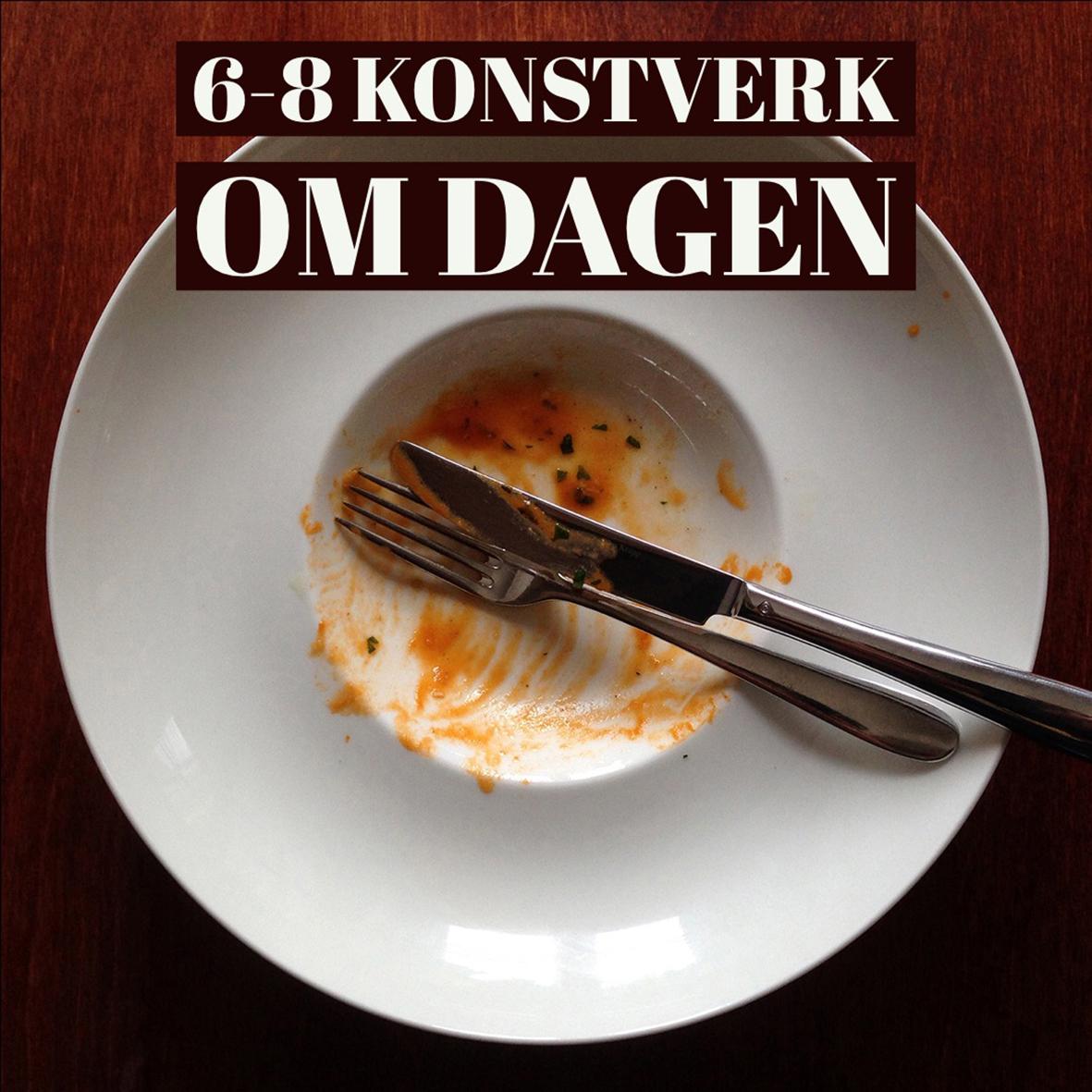 """Utställningen """"6-8 konstverk om dagen"""" visas i Konsthallen Hamnmagasinet i Askersund 2019."""